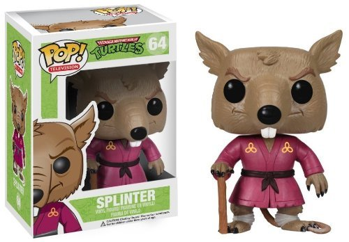 "Splinter: ~4.2"" Funko POP! TMNT Vinyl Figure"