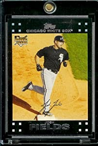 2007 Topps #292 Josh Fields RC - Rookie Card -Chicago White Sox Baseball Card - Mint Condition - Shipped in Protective Display Case!
