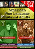American Sign Language for Kids and Adults, Vol. 1-2 - Complete Set - 2 DVDs