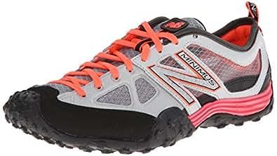 New Balance Women's WX007 Minimus Training Shoe, Coral/Grey, 5 D US