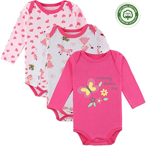 Mother Nest Baby Bodysuits Onesies Newborn Girl