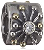 Pandora Bead Silver Gold 790188cz (Does Not Come In Pandora Box)