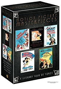 Motion Picture Masterpieces Collection (David Copperfield 1935 / Marie Antoinette 1938 / Pride and Prejudice 1940 / A Tale of Two Cities 1935 / Treasure Island 1934) (Sous-titres français) [Import]