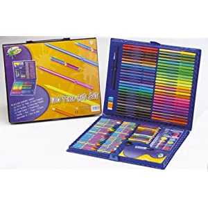 130 piece art set