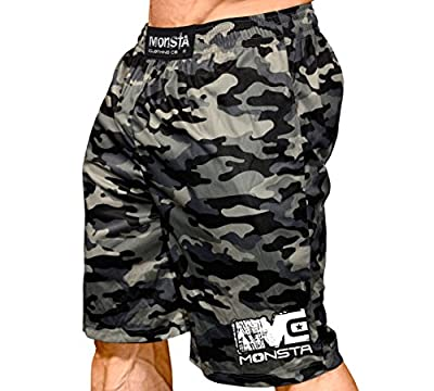 Monsta Clothing Co. Men's MC-Full-Camo-(SRT-244) Shorts