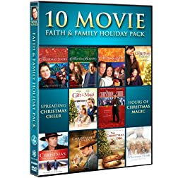 Faith & Family Holiday Movie 10-Pack (The Christmas Shoes, The Christmas Blessing, The Christmas Hope, The Christmas Box, Christmas Comes Home To Canaan, A Christmas Visitor, Christmas in Canaan, The Christmas Pageant, Gift of the Magi, Christmas Choir)