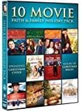 10 Movie Faith & Family Holiday Pack
