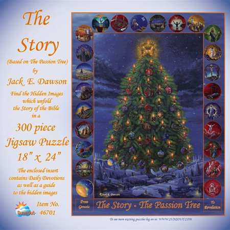 Cheap SunsOut The Story Of The Bible – The Passion Tree 300pc Jigsaw Puzzle (B000KCTQ26)