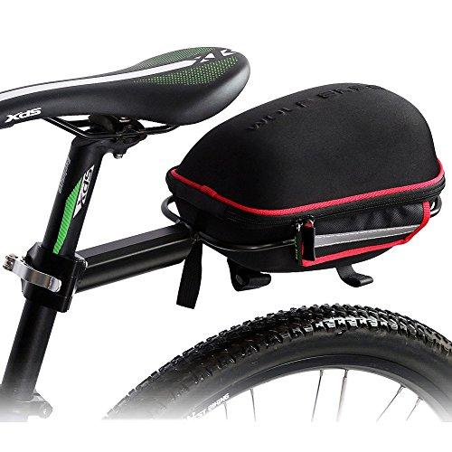 West-Biking-Wasserdicht-Mountain-Bike-Gepcktrger-Tasche-Fahrrad-mit-partable-schnellverschlussbettigung-Rahmen-Wasserdicht-Regen-Cover-damen-Jungen-unisex-Herren-Schwarz-Rot
