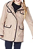 4 Pockets Spotted Coat with Shower Resistance [T74-7039J-S]
