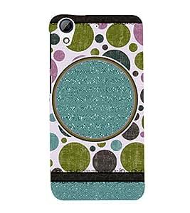 Rangoli Design 3D Hard Polycarbonate Designer Back Case Cover for HTC Desire 728G Dual Sim::HTC Desire 728G::HTC Desire 728