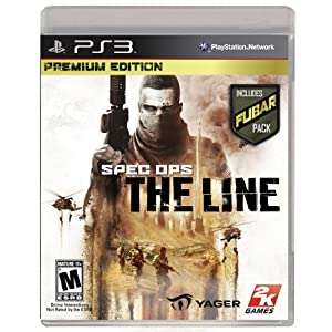 Spec Ops The Line Premium Edition PS3 Video Game