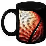 HomeSoGood Amazing Basketball Black Ceramic Coffee Mug - 325 Ml
