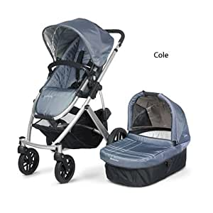 UPPAbaby Vista Stroller, Cole/Slate (Discontinued by Manufacturer)