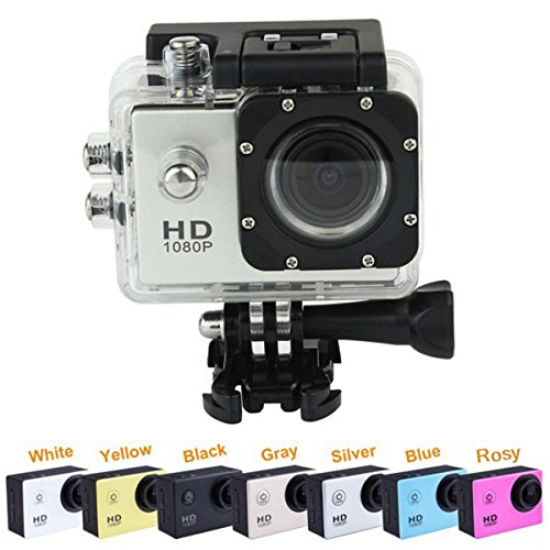 """SJ4000 12.0MP 1080P H.264 Full HD 1.5"""" LCD 30m Water Resistant Mini Sports DV Camcorder Action Video Camera - 7 Colors at amazon"""