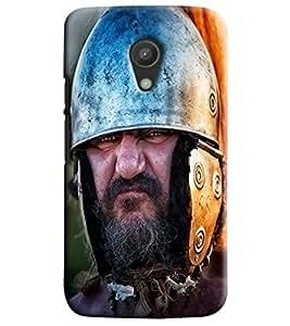 Blue Throat Britisher War Printed Designer Back Cover/ Case For Motorola Moto G2