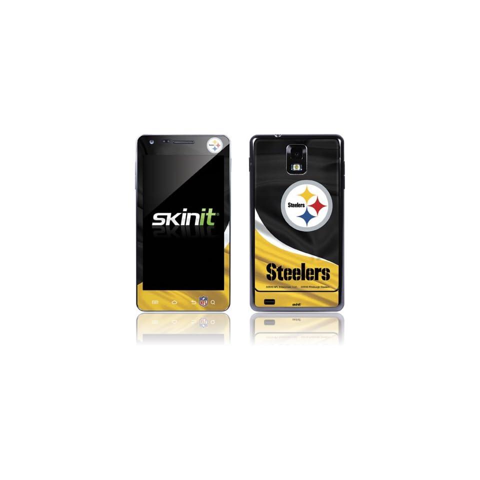 NFL Pittsburgh Steelers Infuse 4G Skin   Pittsburgh Steelers Vinyl Decal Skin For Your Infuse 4G