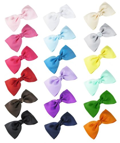 Ship From USA--HipGirl Girls Bow Tie Hair Bow