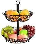 Surpahs 2-Tier Countertop Fruit Baske...