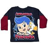 Nickelodeon Little Boys' Bubble Guppies Long Sleeve Tee T-shirt
