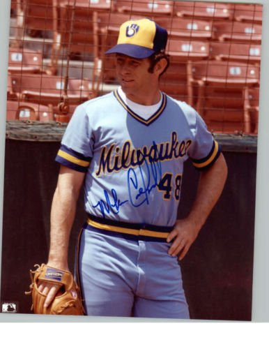 MIKE CALDWELL BREWERS SIGNED PHOTO 8X10 ID # 25472