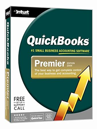 QuickBooks Premier 2006 Windows [Old Version]