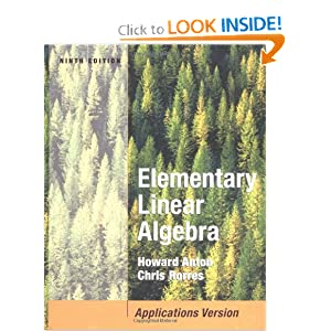 Elementary Linear Algebra with Applications - Howard Anton