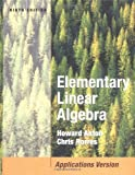 img - for Elementary Linear Algebra with Applications book / textbook / text book