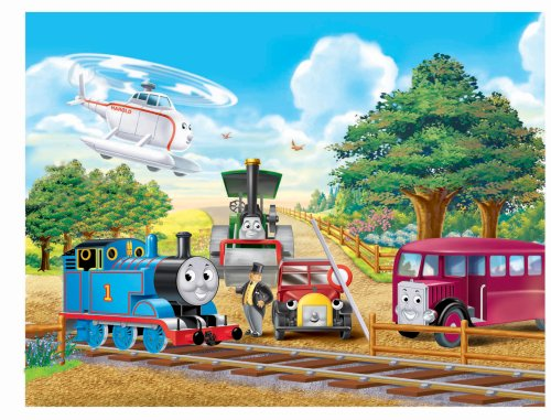 Thomas & Friends: Thomas Meets with Friends - 60 Piece Puzzle - 1