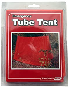 Tube Tent Emergency Shelter, Weather Protection, Emergency Zone? Brand by Emergency Zone