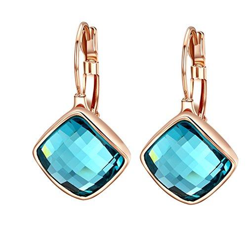forma-oro-yoursfs-18k-rosa-ha-placcato-nobile-abbagliamento-cristallo-blu-rhombus-borgogna-ciondola-
