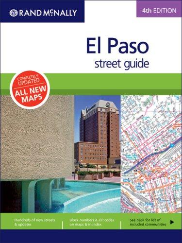 Rand McNally El Paso Street Guide (Rand McNally El Paso Sreeet Guide)