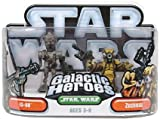 Hasbro 85418 Star Wars Galactic Heroes Mini-Figure 2 Pack - IG-88 and Zuckuss