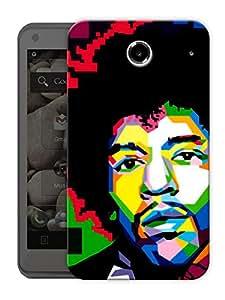 "Jimi Hendrix Pixels Printed Designer Mobile Back Cover For ""Lenovo S880"" By Humor Gang (3D, Matte Finish, Premium Quality, Protective Snap On Slim Hard Phone Case, Multi Color)"