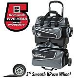 Team Brunswick 4 Ball Roller Bowling Bag