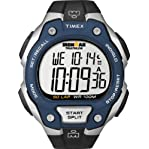 Timex Men's T5K496 Ironman Traditional 50-Lap Black Resin Strap Watch