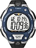 Timex Men's Quartz Watch with LCD Dial Digital Display and Black Resin Strap T5K496SU
