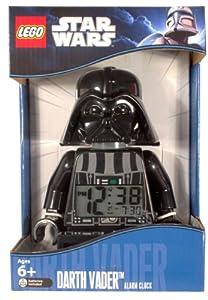LEGO Unisex 9002113 Star Wars Darth Vader Mini-Figure Alarm Clock