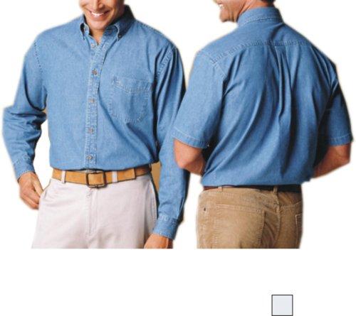 Harriton - Men's Long Sleeve Denim (M550) - Buy Harriton - Men's Long Sleeve Denim (M550) - Purchase Harriton - Men's Long Sleeve Denim (M550) (Harriton, Harriton Mens Shirts, Apparel, Departments, Men, Shirts, Mens Shirts)