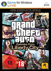 """Grand Theft Auto: Episodes from Liberty City - Zwei komplette Spiele: """"The Lost and Damned"""" + """"The Ballad of Gay Tony"""""""
