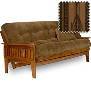 eastridge futon set queen size frame premium 8