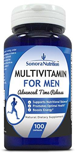 Sonora-Nutrition-Multivitamin-for-Men-Advanced-Time-Release-100-Capsules