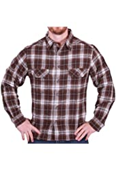 Field & Stream Men's Button-Down Plaid Flannel Shirt