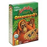 EnviroKidz Organic Orangutan-O's Cereal, 13.25-Ounce Boxes (Pack of 6)