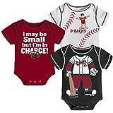 MLB Boys Infant My Team Onesie 3-Piece Set
