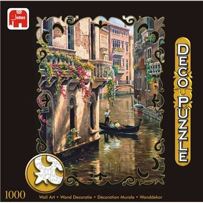 Cheap Jumbo Afternoon Chat 1000pc Deco Jigsaw Puzzle (B000EWC106)