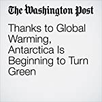 Thanks to Global Warming, Antarctica Is Beginning to Turn Green | Chris Mooney