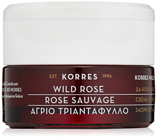 Korres 24-Hour Moisturising and Brightening Cream, Wild Rose