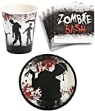 Zombie Bash Birthday Party Supplies Set Plates Napkins Cups Kit for 16