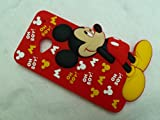 DIA® DISNEY MICKEY MOUSE STANDING DESIGN 4 SILICONE PHONE CASE COVER FOR HTC ONE M7